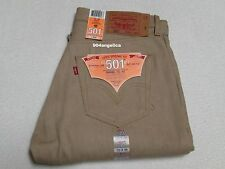 Levis 501 Button Fly Shrink-to-Fit  Straight Leg Jeans 33X36 NWT