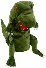 Fiesta crafts Dinosaure marionnette à main (vert)