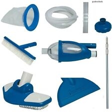 Pool Maintenance Kit Intex Deluxe Edition Suction Vacuum Cleaning Skimmer Brush
