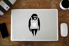 "Banksy Monkey Protest Decal Sticker for Apple MacBook Air/Pro 11"" 12"" 13"" 15"""
