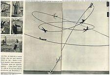 Coupure de presse Clipping 1961 (4 pages) Aerodrome de Bruxelles Boeing Fou