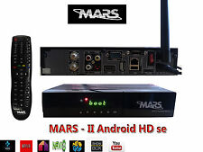 MARS Android Multimedia +DVB-S2 lo streaming IPTV via satellite + + Kodi Box1.5G ibrido 2in1