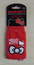 Universel officiel licencié rouge HELLO KITTY chaussette téléphone mobile de protection