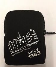 Manhattan Portage Zippered Coin Purse Change Holder, Credit Card Holder Neoprene