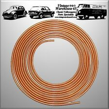 "Ford Escort Cortina Sierra Fiesta Capri Consul 25ft 3/16"" Copper Brake Line Pipe"