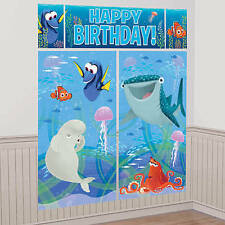 Disney Finding Dory Scene Setters Wall Banner Decorating Kit Party Supplies