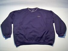 Vintage Big Dog Athletic Golf Pullover Windbreaker Jacket Men's Size L