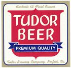 Tudor Beer Premium Quality Beer Label