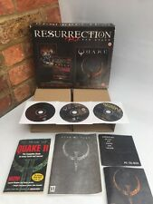 QUAKE RESURRECTION PACK / ORIGINAL BIG BOX PC GAME / 3 DISC / COLLECTORS SET