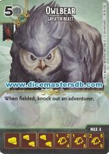 Owlbear Greater Beast #81 - Dungeons & Dragons Battle for Faerun - Dice Masters