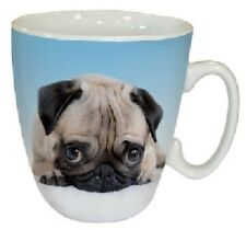Cute 'Pug Love' Tea Coffee Mug - Ideal Gift for a Pug Dog Lover - FREE P&P