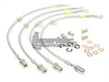 Goodridge G-Stop Stainless Steel Brake Line Kit 02-07 Subaru Impreza WRX STI NEW