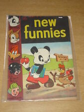 NEW FUNNIES #105 VG+ (4.5) ANDY PANDA WOODY WOODPECKER DELL COMICS NOVEMBER 1945