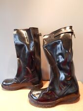 Nos Vintage Goodall Waterproof Waders Rubber Boots Fishing Rain Fireman Mens 11