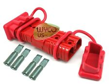 QUICK CONNECTOR KIT,175A, RED, WINCHES, SNOW PLOW, TOWING, 4X4, QUAD, SALT TRUCK