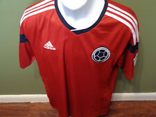 Colombia adidas Away Soccer Jersey - Red SIZE ADULT MEDIUM