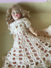 Vintage 1945 Eugenia is a Bride Doll Touch of Paris w Box Pink Crochet Dress Hat