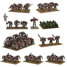Mantic Games Kings of War NUOVO CON SCATOLA Ogre MEGA FORCE mgkwh105