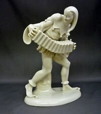 Early c1910 Gustav Oppal Schwarzburger Werk Germany Porcelain Harlequin Figurine