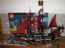 LEGO Pirates of the Caribbean 4195 Queen Anne 's Revenge 100% completamente come nuovo