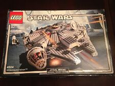 Lego Star Wars 4504 Millennium Falcon 2004 Original Trilogy Edition Very Rare!