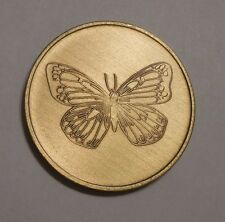 AA AL-ANON  ALCOHOLICS ANONYMOUS BUTTERFLY  CHIP COIN TOKEN MEDALLION NEW