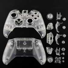 New Transparent Clear Full Housing Shell Cover For XBOX ONE Wireless Controller