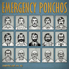 EMERGENCY PONCHOS Anomalies En Mi LP . punk rock power pop rock and roll benidor