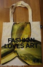 JEFF KOONS x H&M NYC 'Balloon Dog (Yellow)' 2014 Tote Bag RARE Not Sold **NEW**