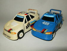 LOT DE 2 MAJORETTE PUNCH RACERS PEUGEOT 405 RALLY RAID