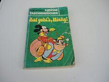 """Lustige Taschenbücher Walt Disney LTB Nr. 40 """" Auf gehts Micky """" 1981"""