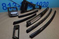 07-09 E92 BMW 335I 2 DOOR DASHBOARD & DOOR PANEL CONSOLE MOLDING WOOD TRIM TRIMS