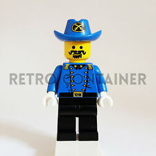 LEGO Minifigures - 1x ww001 - Cavalry Colonel - Western Omino Minifig 6762 6769