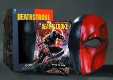 Tony Daniel SIGNED Deathstroke The Terminator Book Mask Set GODS OF WAR CW Arrow