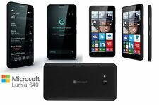 NEW NOKIA LUMIA 640 BLACK*4G LTE* WINDOWS 8 SMARTPHONE *Unlocked* 8Gb