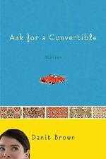Ask for a Convertible Stories Danit Brown 2008 Hardcover Fiction Novel USA