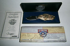 Nascar Racing 50th Anniversary Limited Edition Knife with Case & Certificate