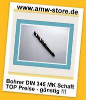 HSS Spiralbohrer MK Bohrer Metall Eisen Din345 rollg.  25,5 bis 40 mm MK Schaft