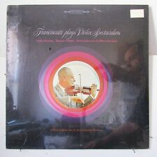 FRANCESCATTI-PLAYS VIOLIN SPECTACULARS ON COLUMBIA CLASSICAL LP-ORIGINAL SEALED!