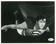 "(SSG) KIRK ALYN Signed 10X8 Photo as the original ""Superman"" with a JSA COA"