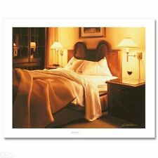 "Carrie Graber  ""Spanish Inn"" Original Limited Edition  Canvas   Signed  COA"