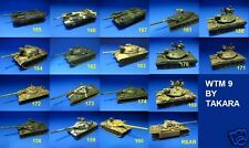 World Tank Museum Series 09 TAKARA TOMY 1/144 x 10 pcs TANKS