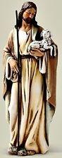"Joseph's Studio Jesus the Good Shepherd 4"" Inch Statue NIB"