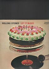 ROLLING STONES - let it bleed LP usa press