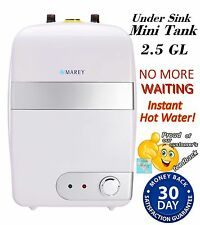 Mini Tank 2.5 GL 110V under sink/shower instant hot water heater  20A by Marey