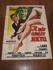 MANIFESTO 1960,Il mio amico Jekyll,TOGNAZZI UGO,CROCCOLO,VIANELLO,ABBE LANE,HYDE