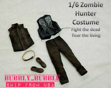 "1/6 The Walking Dead Daryl Dixon Clothes Vest Set 12"" Hot Toys ☆SHIP FROM USA☆"