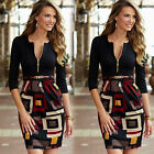 New Women's Summer Sexy Floral Casual Party Evening Cocktail Short Mini Dress