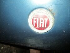 FIAT 124 2000 Spider X19 X/19 850 Hood Trunk Emblem Badge Original Enamel Motiff