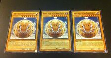 3 x YuGiOh Card - HIERATIC SEAL OF THE SUN DRAGON OVERLORD - GAOV-EN002 Common